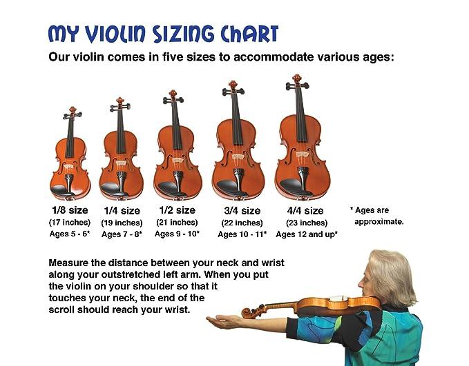 Amazon com emedia my violin starter pack full size 5 sizes