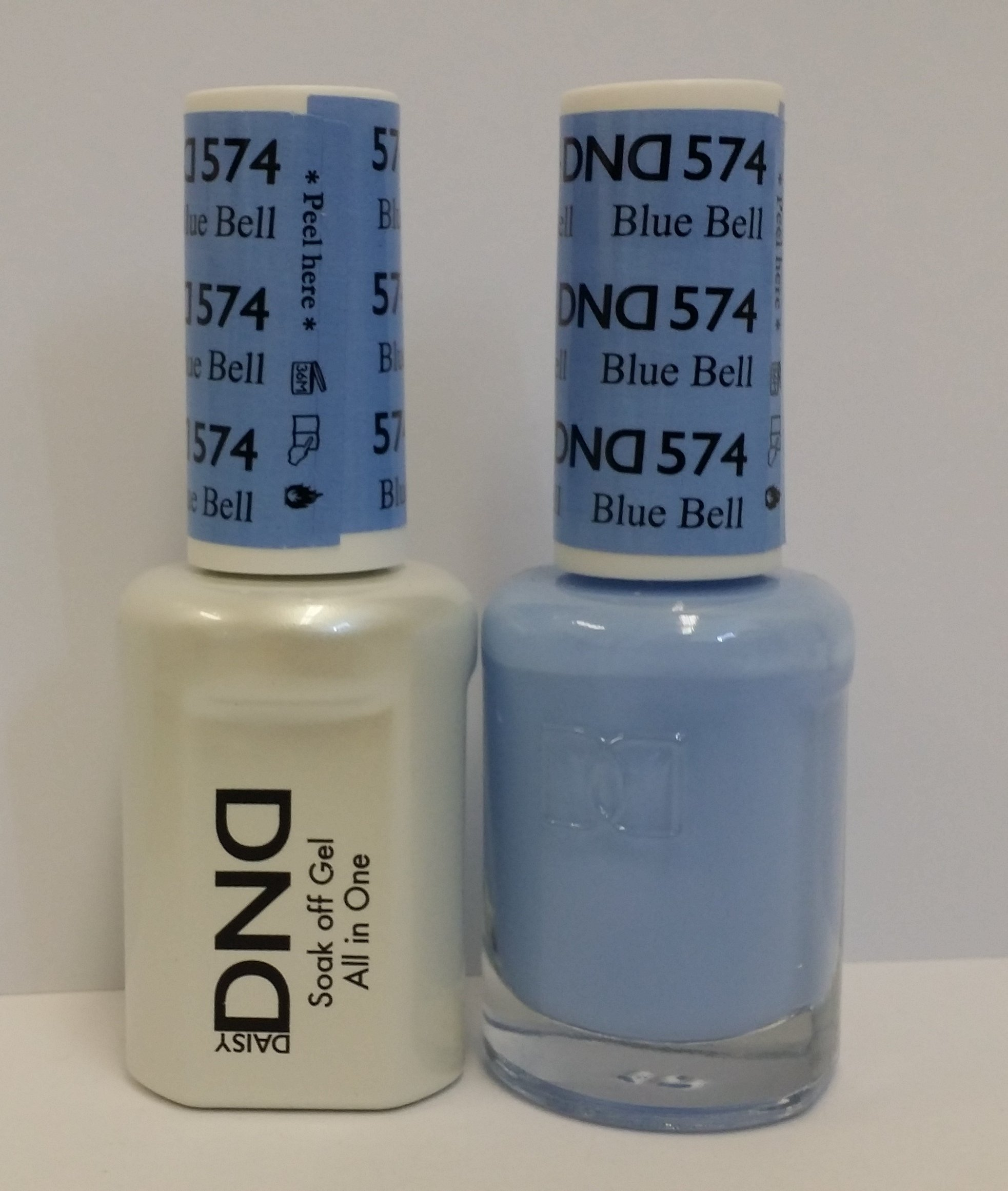 Amazon.com: DND Gel & Matching Polish Set (569 - Green spring, KY ...