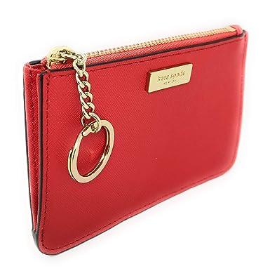 sale retailer 2b4ba 78db6 Kate Spade New York Bitsy Card Case W/Keyring Coin Purse Red