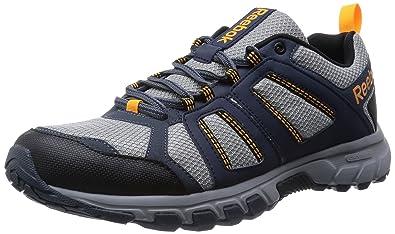 eecf7cf40 Reebok Men s DMX Ride Comfort RS 3.0 Trail Running Shoes Gray Grau (Flat  Grey