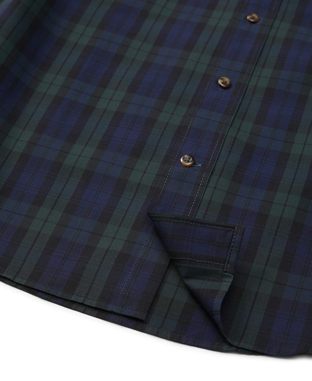 IZOD Mens Heritage Long Sleeve Button Down Tartan Shirt