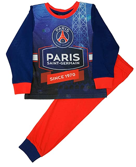 Paris Saint Germain FC - Pijama Dos Piezas - Manga Larga - para niño: Amazon.es: Ropa y accesorios