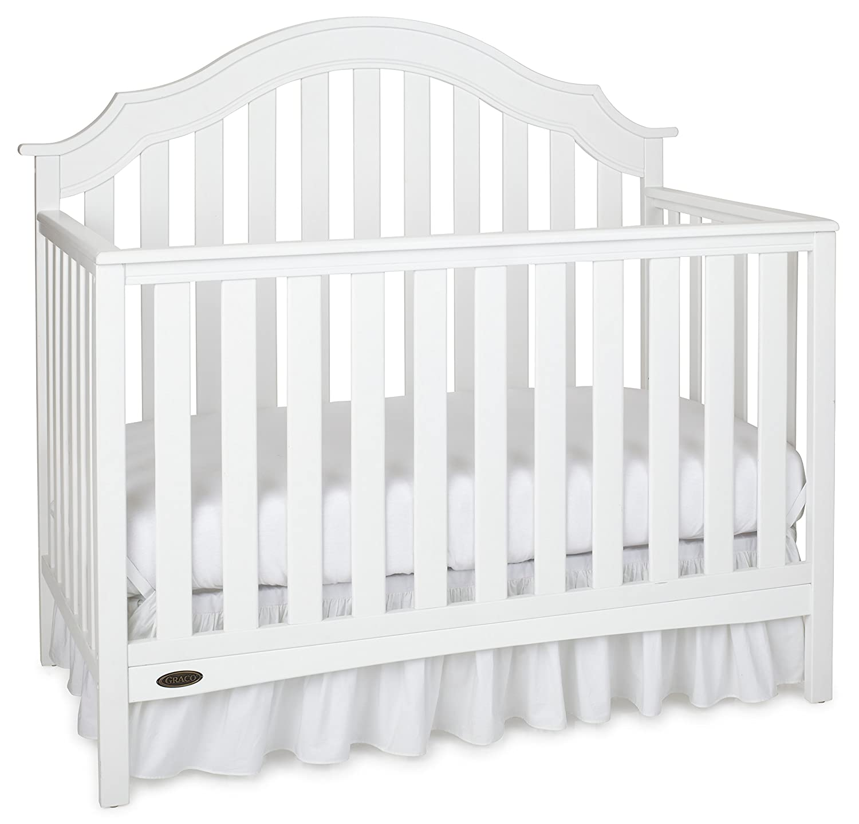 Amazon Graco Addison Convertible Crib White Baby