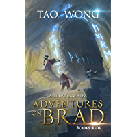 Adventures on Brad Books 4 - 6: A LitRPG Fantasy Series (Adventures on Brad Omnibus Book 2) (English Edition)