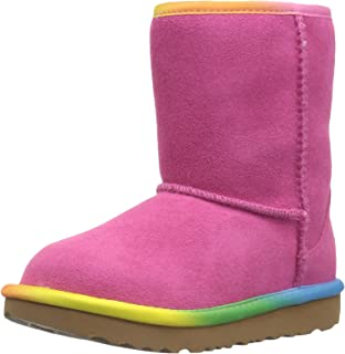 pink and blue uggs