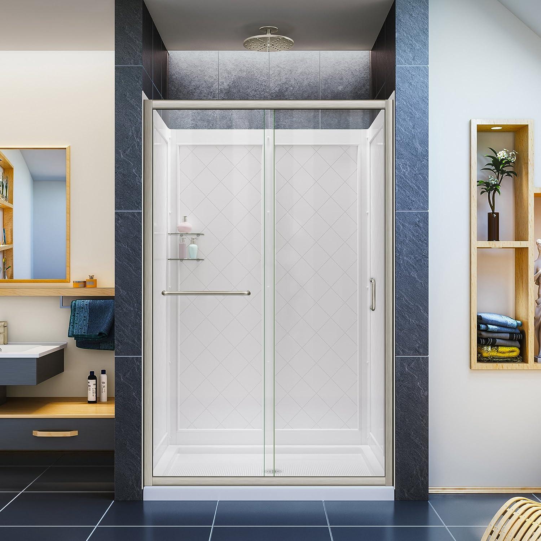 DreamLine Infinity-Z sin marco deslizante para mampara de ducha, 36