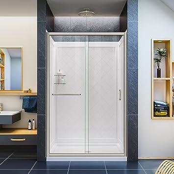 DreamLine Infinity-Z sin marco deslizante para mampara de ducha ...