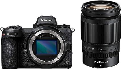 Nikon Z 6ii Spiegellose Vollformat Kamera Mit Nikon 24 200mm 1 4 0 6 3 Vr