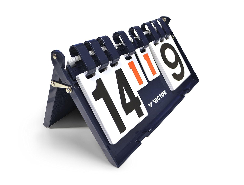 VICTOR Scoreboard - Marcador de puntuación y tiempo, color Azul Oscuro 703/0/1
