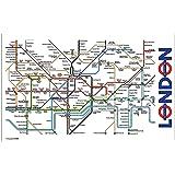London Underground Mapa Tea Towel (bis)