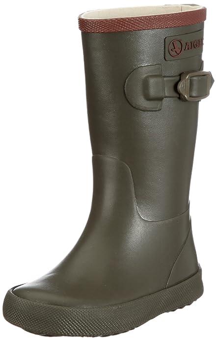 Aigle Perdrix, Botas de agua unisex, Verde (Kaki), 34 EU