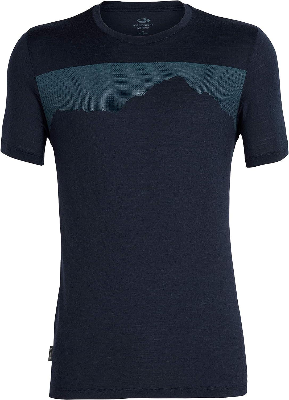 Icebreaker Tech Lite SS Crewe Cook by Night Homme T-Shirt