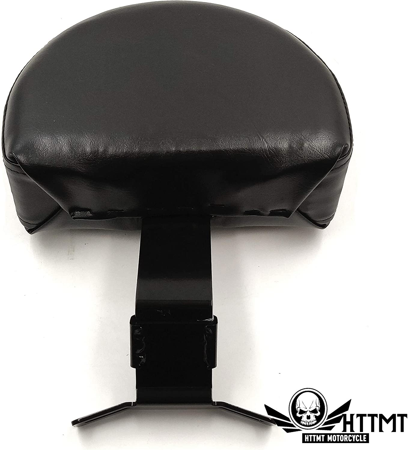 HTTMT TGHD-SBB045-I Driver Backrest Easy ON//OFF Studded Compatible with Harley 2007-2017 Heritage Softail//Fatboy