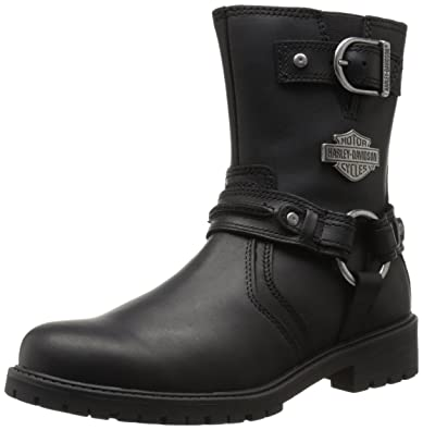 Harley-Davidson Men's Abner Motorcycle Harness Boot, Black, ...