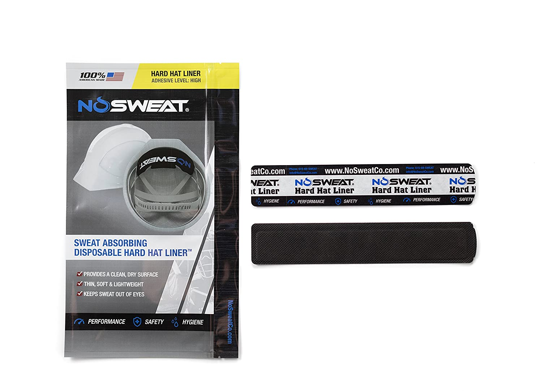 12 Pack No Sweat Welding Helmet Sweatband Mask Liner//Sweat Absorber
