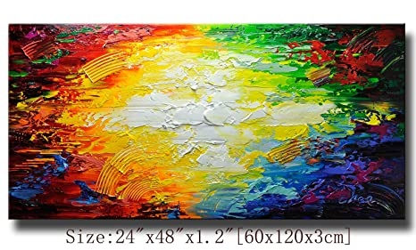 Modern Canvas Art Wall Decor Abstract Oil Painting Contemporary Art Abstract Paintings Framed Canvas Wall Art For Home Decor Wall Decorations For