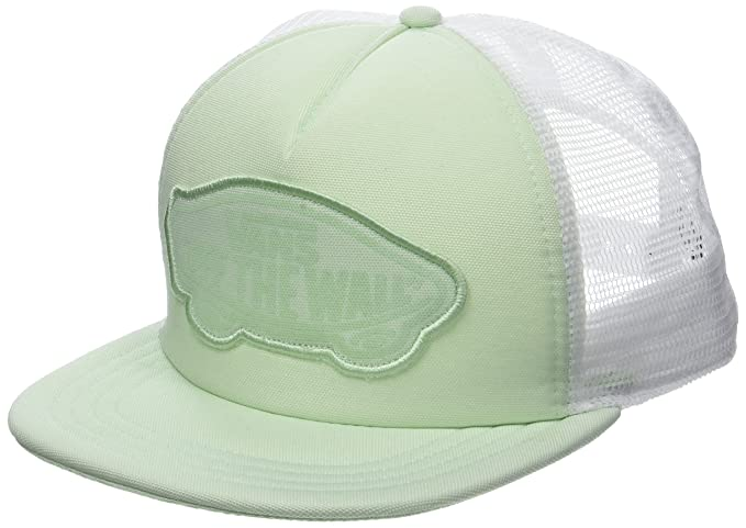 Vans_Apparel Beach Trucker Hat Gorra de béisbol, Verde (Ambrosia ...
