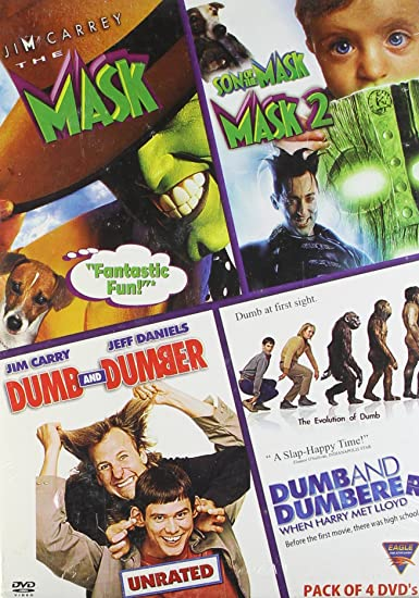Image of: Films Amazonin Buy Hollywood Funny Movies pack Of Dvds Mask 1mask 2dumb And Dumberdumb And Dumberer Dvd Bluray Online At Best Prices In India Geeks10 Amazonin Buy Hollywood Funny Movies pack Of Dvds Mask 1mask