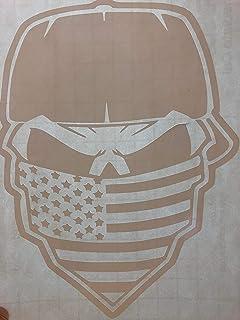 d9de3b4eb50ad Amazon.com: Hot Leathers - Smoking Spiderweb Skull - Sticker / Decal ...