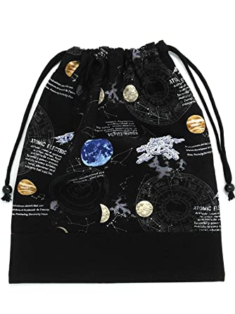 e09a7db95ffb5 Amazon.co.jp: 巾着袋大サイズ 体操着袋 男の子 女の子 オールブラック ...
