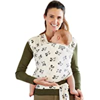 Moby Wrap Baby Carrier | Mickey Mouse | Baby Wrap Carrier for Newborns & Infants | #1 Baby Wrap | Keeps Baby Safe…
