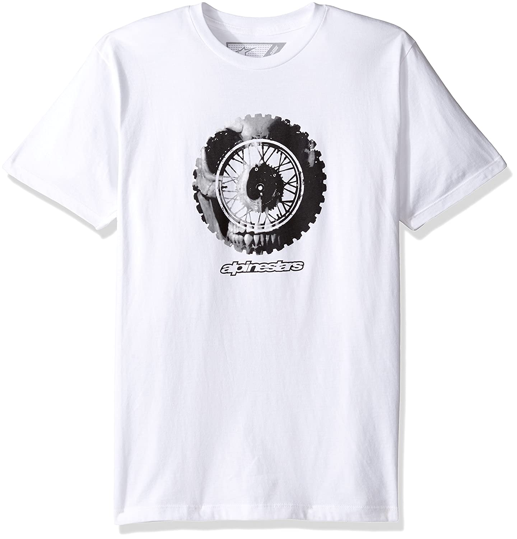 Alpinestars Herren T-Shirt Skulludgery Heritage Modern Fit Short Sleeve