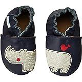 Robeez Friends Wrap Around Crib Shoe (Infant/Toddler),Navy,18-24 Months M US Infant