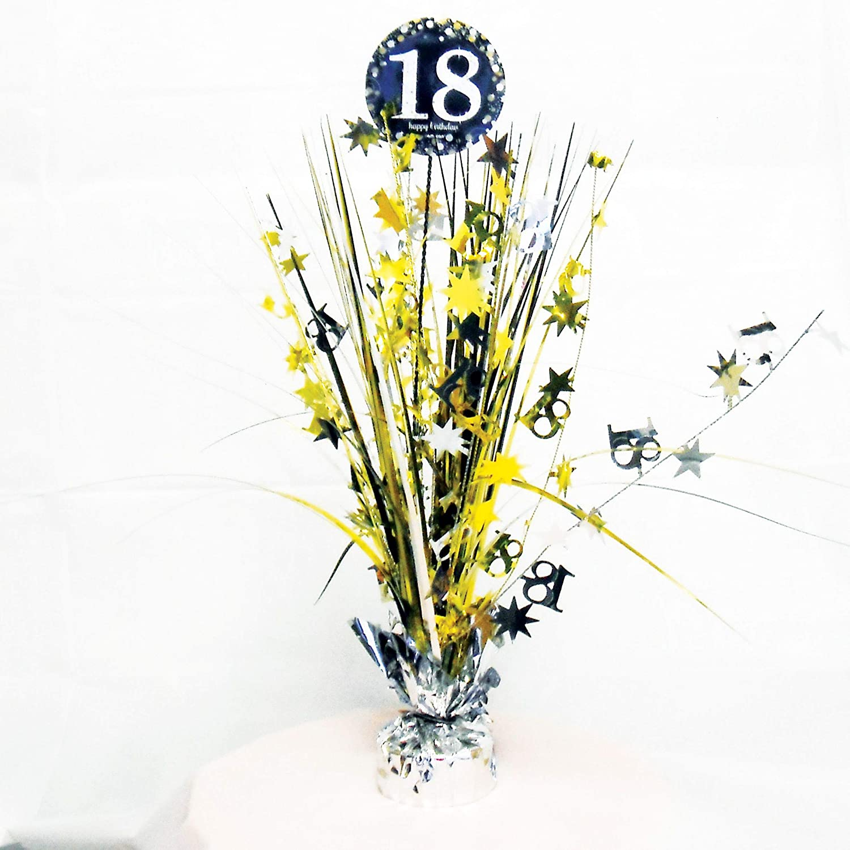 Silber /& Gold amscan 9900552 Tischdekoration 18 Sparkling Celebration