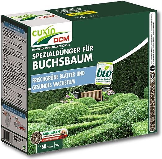 Cuxin Buchsbaumdünger, 3 kg Setos: Amazon.es: Jardín