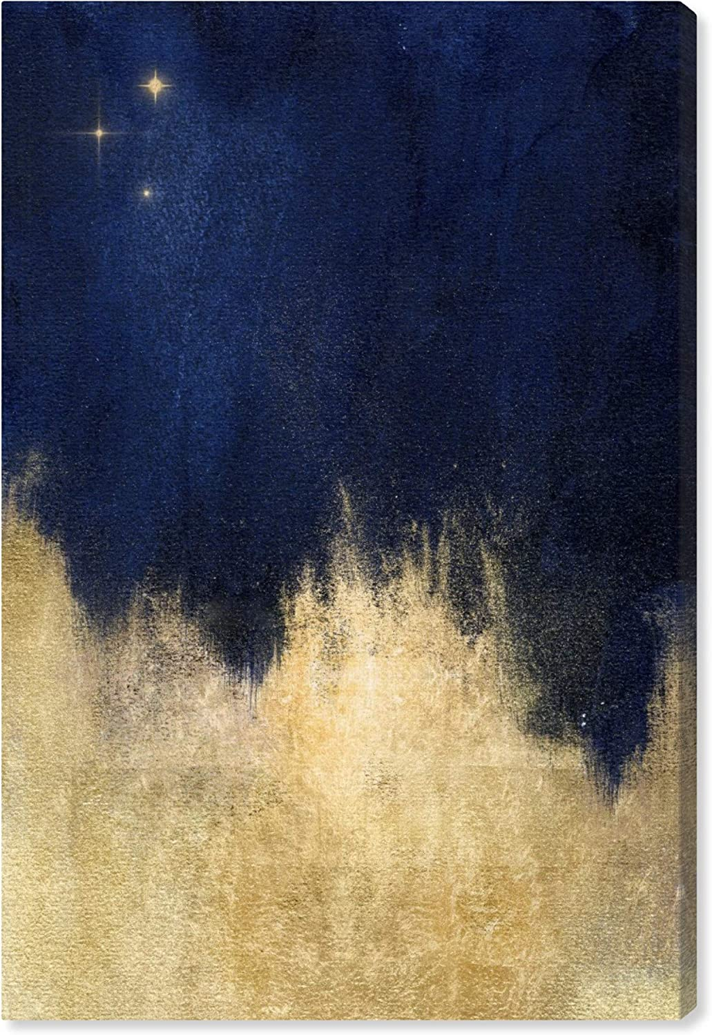 Oliver Gal 'Stars at Midnight' The Abstract Wall Art Decor Collection Contemporary Premium Canvas Art Print