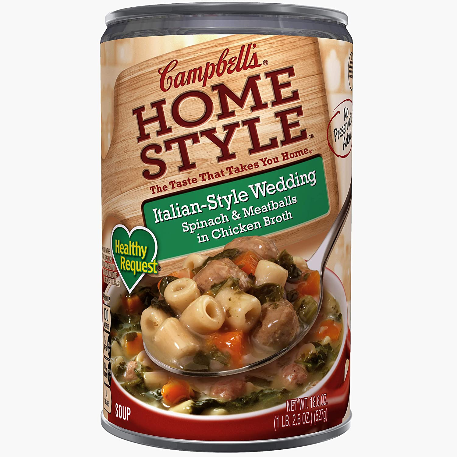 Campbell's Homestyle Healthy Request Italian-Style Wedding Soup, 18.6 oz.