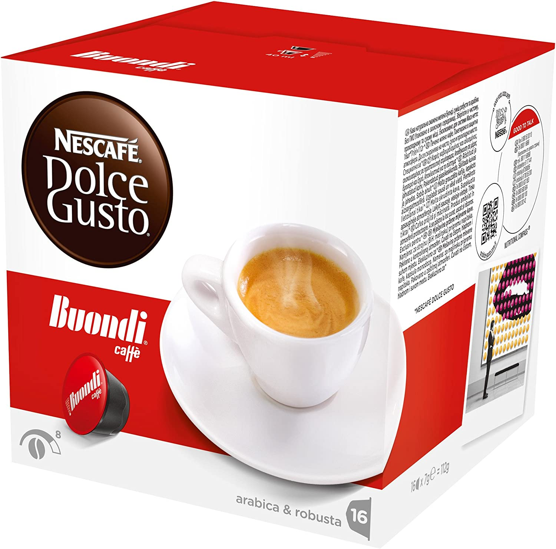 Dolce gusto - Nescafé espresso buondi, 16 cápsulas: Amazon.es: Hogar
