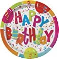 Unique Party 27175 - Piatti per Feste di Compleanno Jamboree, Confezione da 8