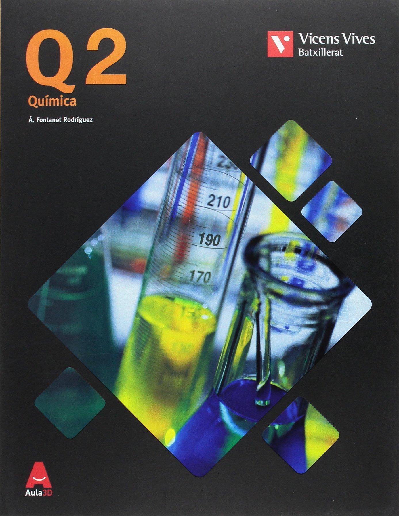 Q2 QUIMICA BATXILLERAT 2º AULA 3D: 000001 - 9788468236148: Amazon ...