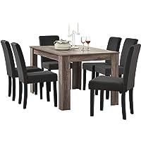 [en.casa] Set de Comedor Elegante Mesa de diseño