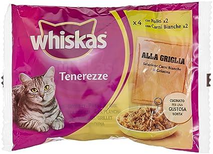 Whiskas - 4 unidades. envoltura de pollo/carne blanca aap28 ...