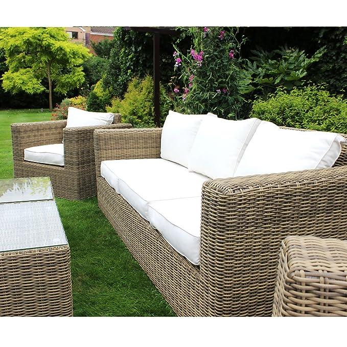 Bentley Natural Lounge con juego de muebles de jardín mesa ...