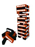 Wild Sports NFL Chicago Bears Table Top Stackers Game