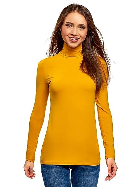 ce8c45c92 oodji Ultra Mujer Suéter de Cuello Alto Básico (Pack de 3)  Amazon.es  Ropa  y accesorios