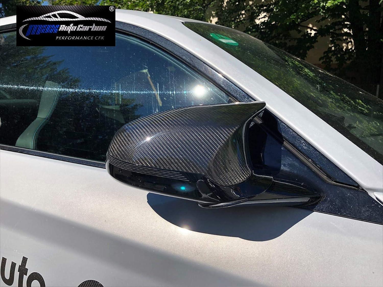 MAX AUTO CARBON Voll Carbon dry Carbon Performance Spiegelkappen mirror cover Abdeckung passend f/ür M3 F80 M4 F82 F83 M2 Competition