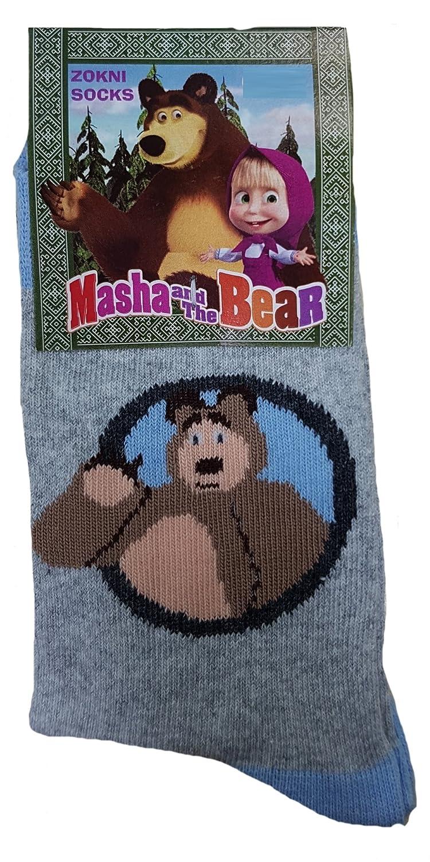 Calze Bambina Bambino Masha e Orso Abbigliamento Bimbo Bimba PS 04804 Vari