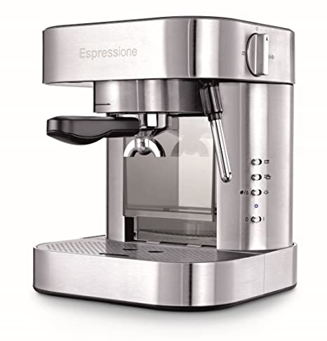 Espressione EM-1020 Stainless Steel Espresso Machine 1.5 L