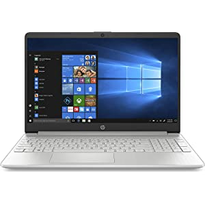 "HP 15s-fq0012nl, Notebook PC, Display FHD IPS antiriflesso 15,6"", Intel Core i7-8565U, 8 GB di RAM, SSD da 256 GB, Argento Naturale"