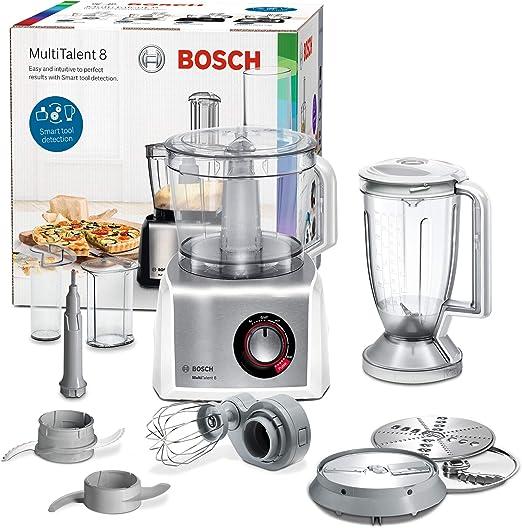 Bosch MC812S814 - Robot de cocina (3,9 L, Acero inoxidable, Blanco ...