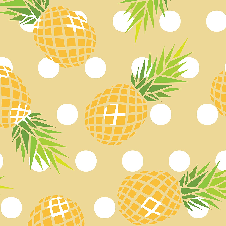 """con ananas 48 mm x 9 m motivo /""""Pineapple Delight/"""" ShurTech Duck Tape Nastro decorativo"""