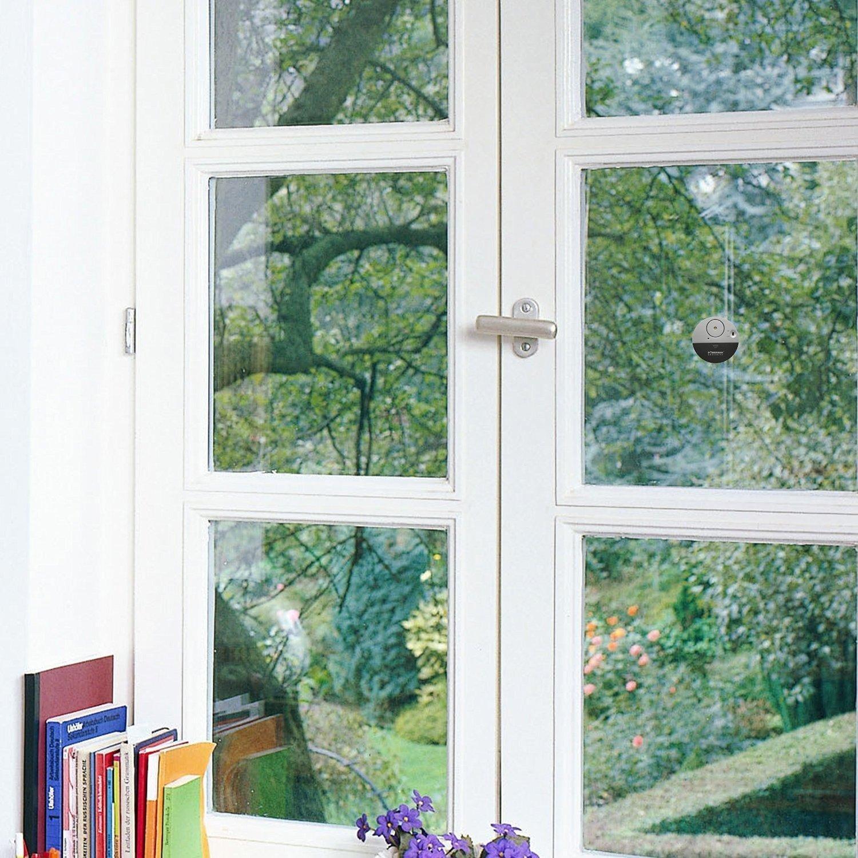 per dormitori o camper,/modello SE-0106 4/pezzi con Alart 100dB design ultra sottile Skert Sensore allarme da finestra sensibile alle vibrazioni del vetro