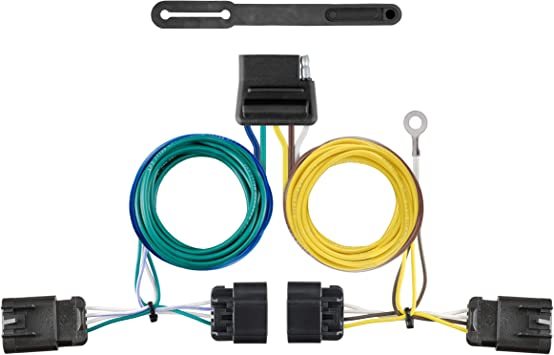 CURT 56594 Vehicle-Side Custom 5-Wire Trailer Wiring Harness for Select GMC Terrain Chevrolet Equinox