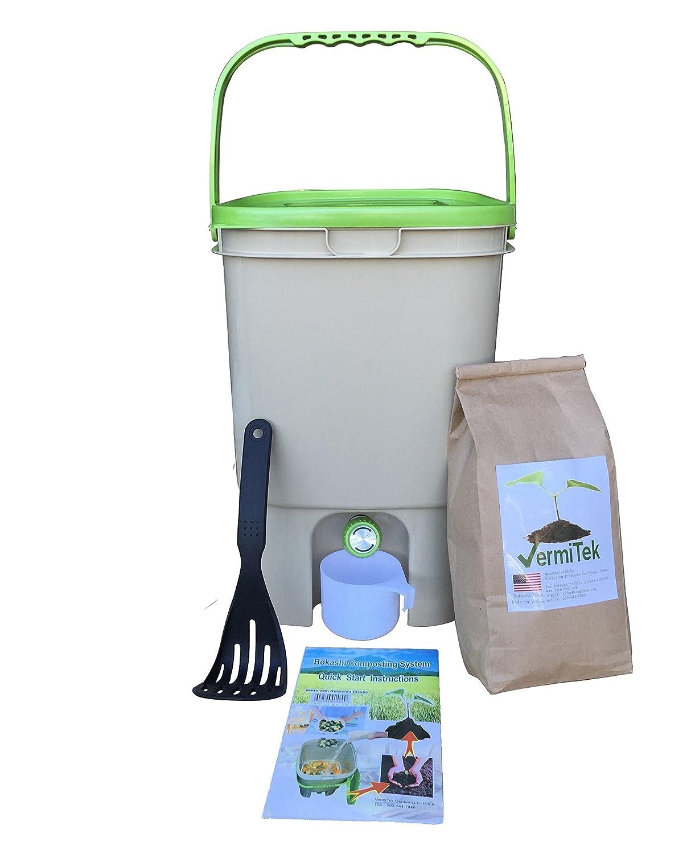 amazoncom bokashi compost kitbase model indoor compost bins garden u0026 outdoor