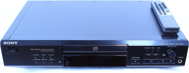 Sony Cdp Xe520 Cd Player Home Cinema Tv Video