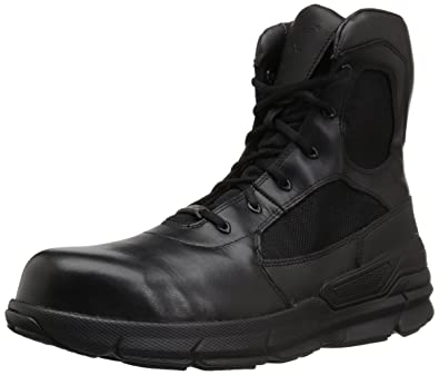 30dbf09cfc3 Bates Men's Charge 8 Composite Toe Side Zip Military and Tactical Boot